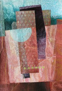 """Above and Below 9"""" x 6"""" Collage"""